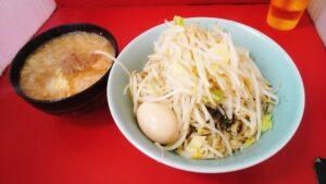 ラーメン二郎新宿歌舞伎町店のつけ麺全マシ