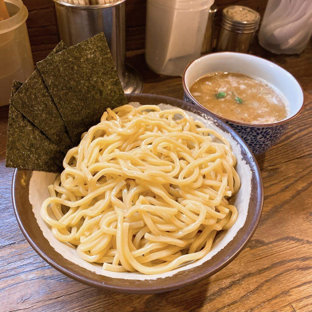 めん屋桔梗のつけ麺