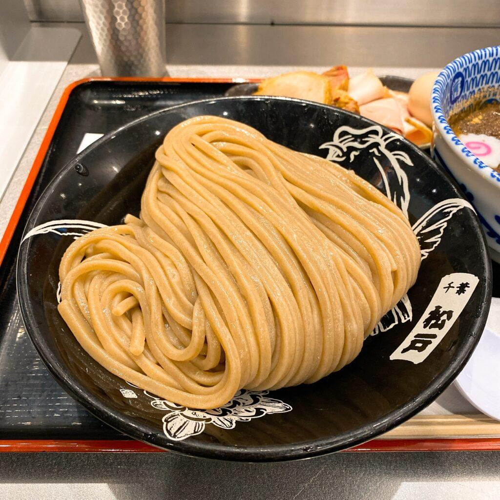 松戸富田麺絆の麺