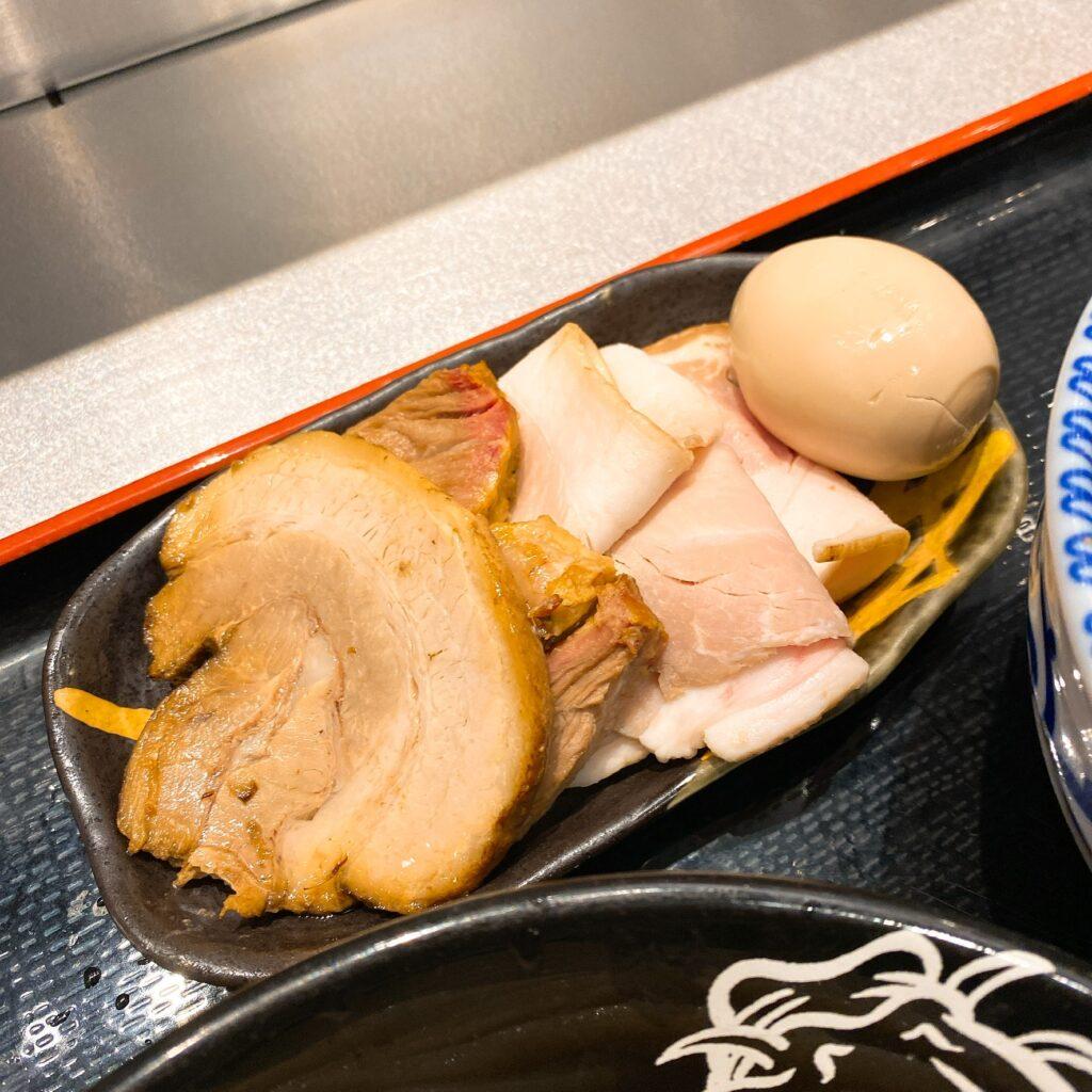 松戸富田麺絆のトッピング