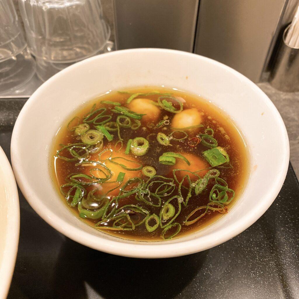 らぁ麺やまぐちのスープ