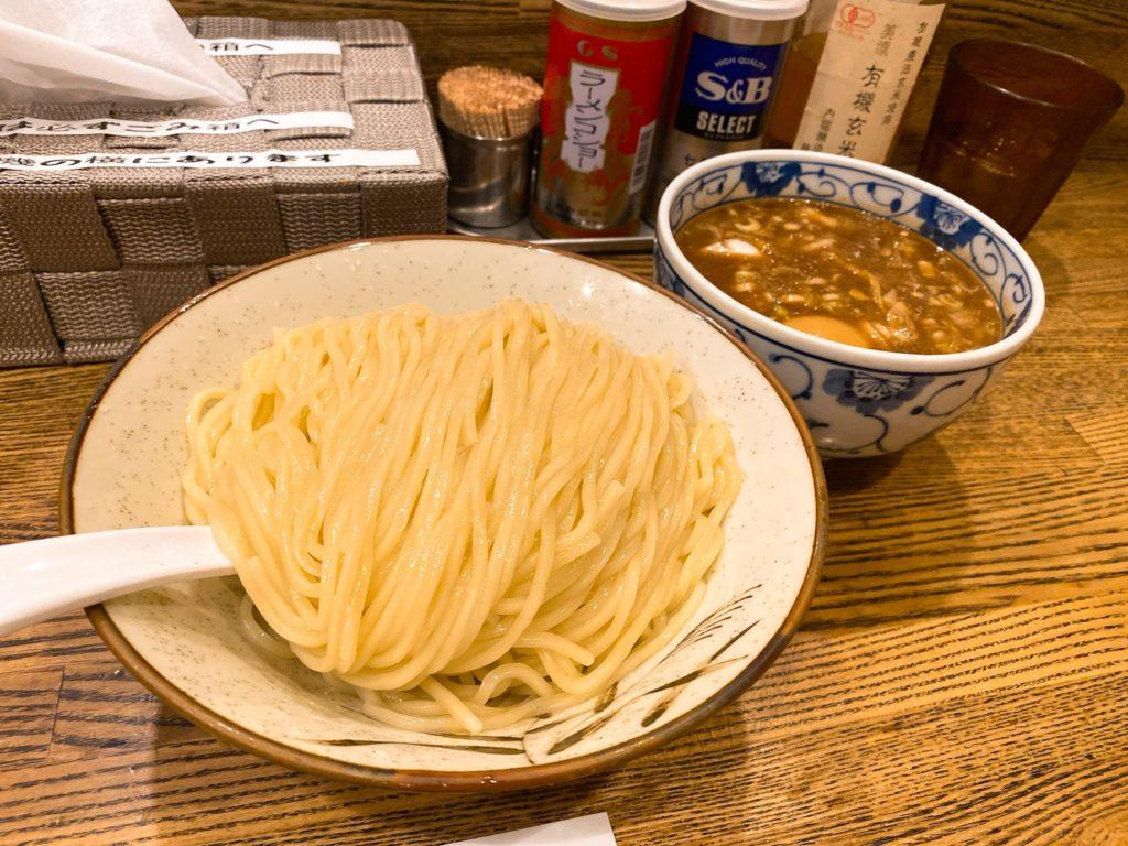 新橋纏のつけ麺