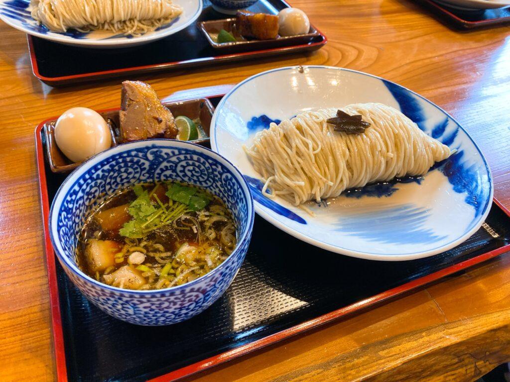 食煅もみじのつけ麺