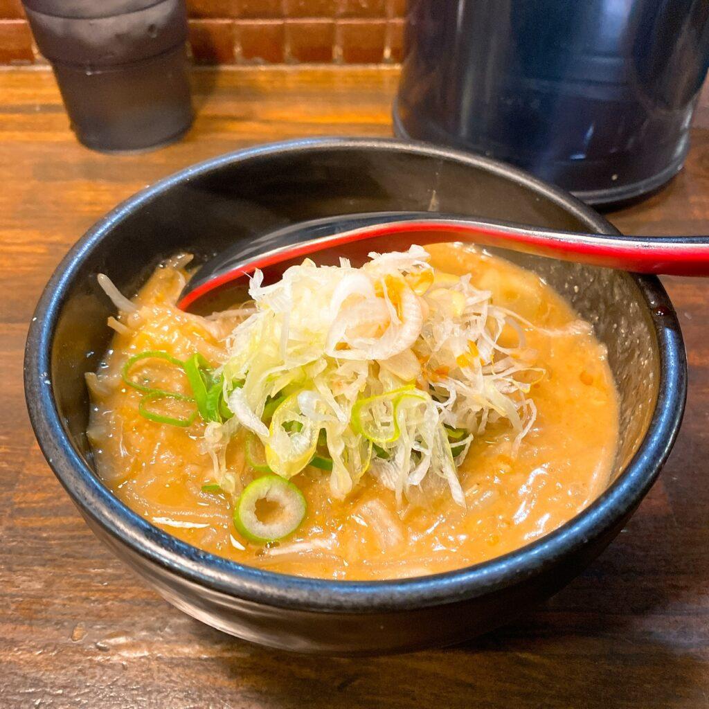 麺処花田のスープ