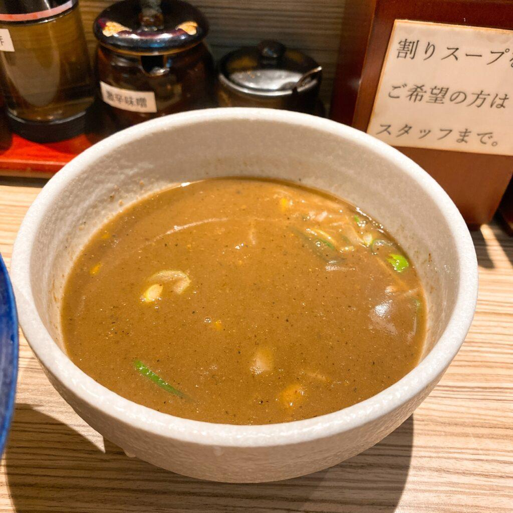 麺屋宮本のスープ