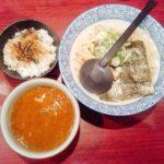久楽の朝つけ麺セットの写真
