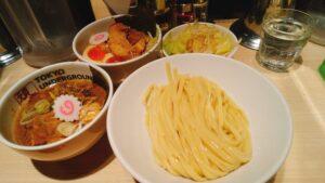 TOKYOUNDERGRAUNDRAMEN頑者の特製つけ麺の写真
