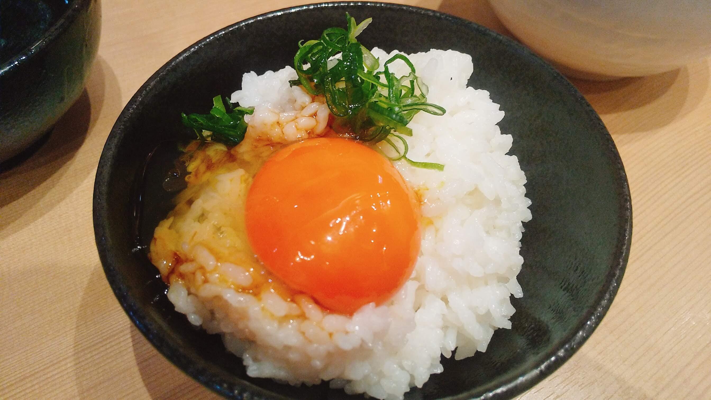きょうすけの卵かけご飯のアップ