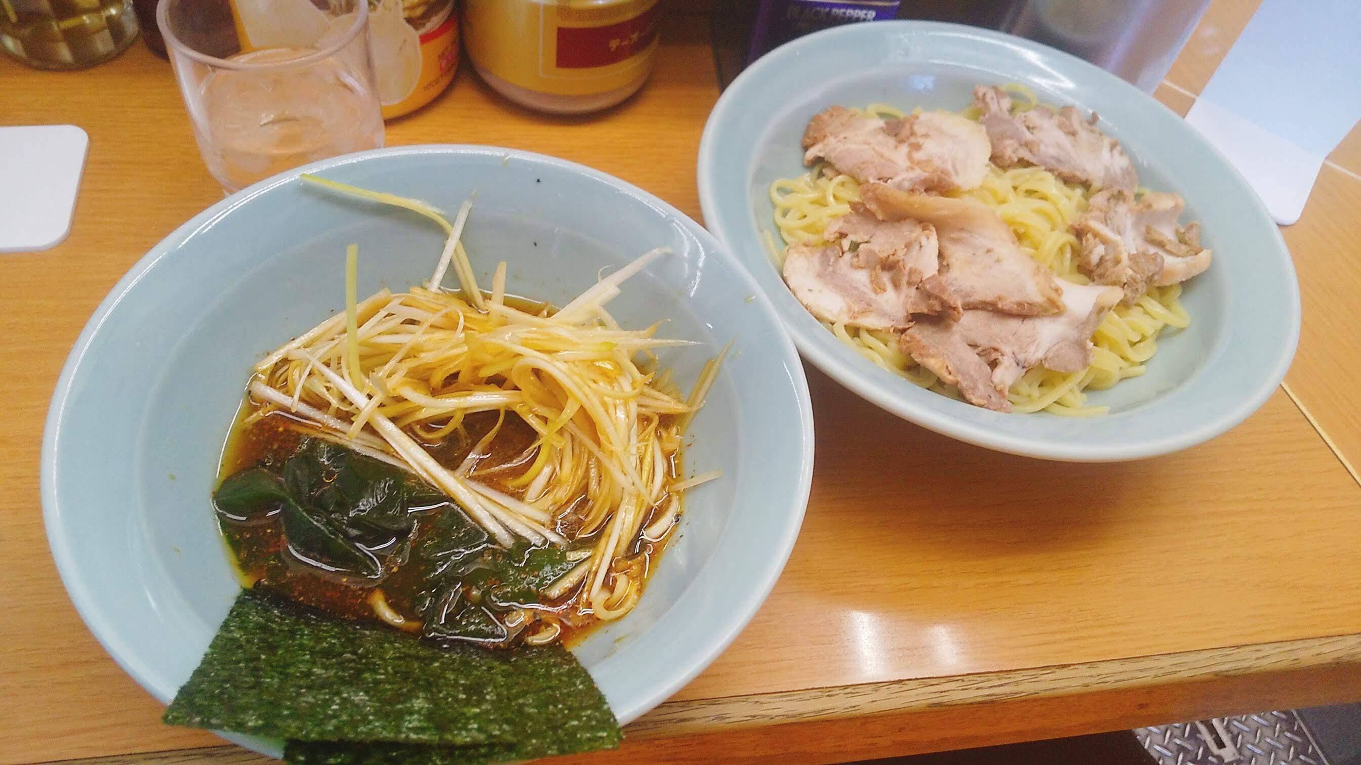 なかむら屋のつけ麺写真