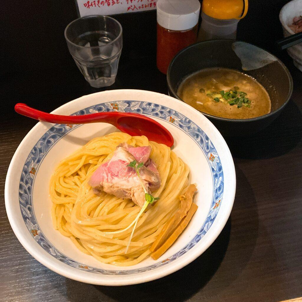 麺処夏海のつけ麺