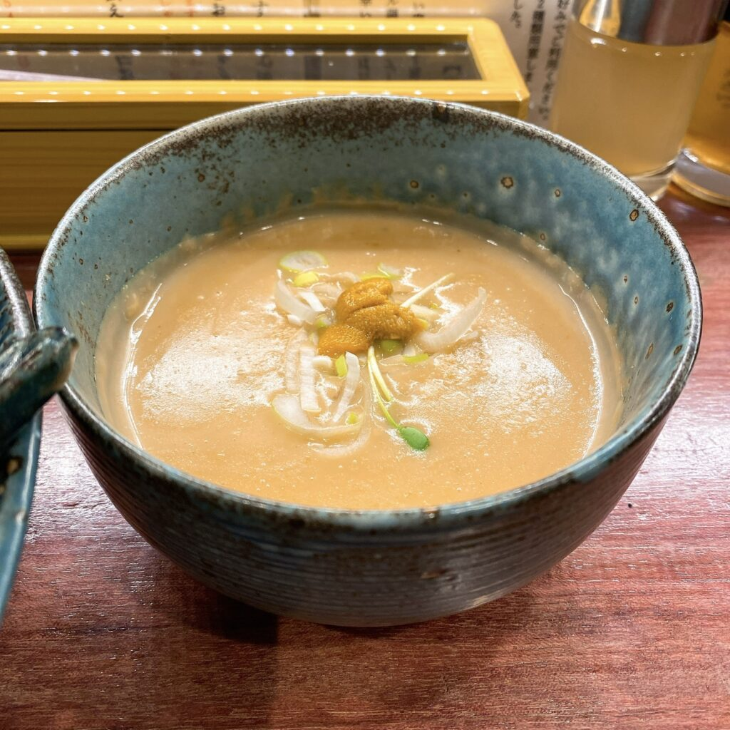 つけ麺一合のスープ