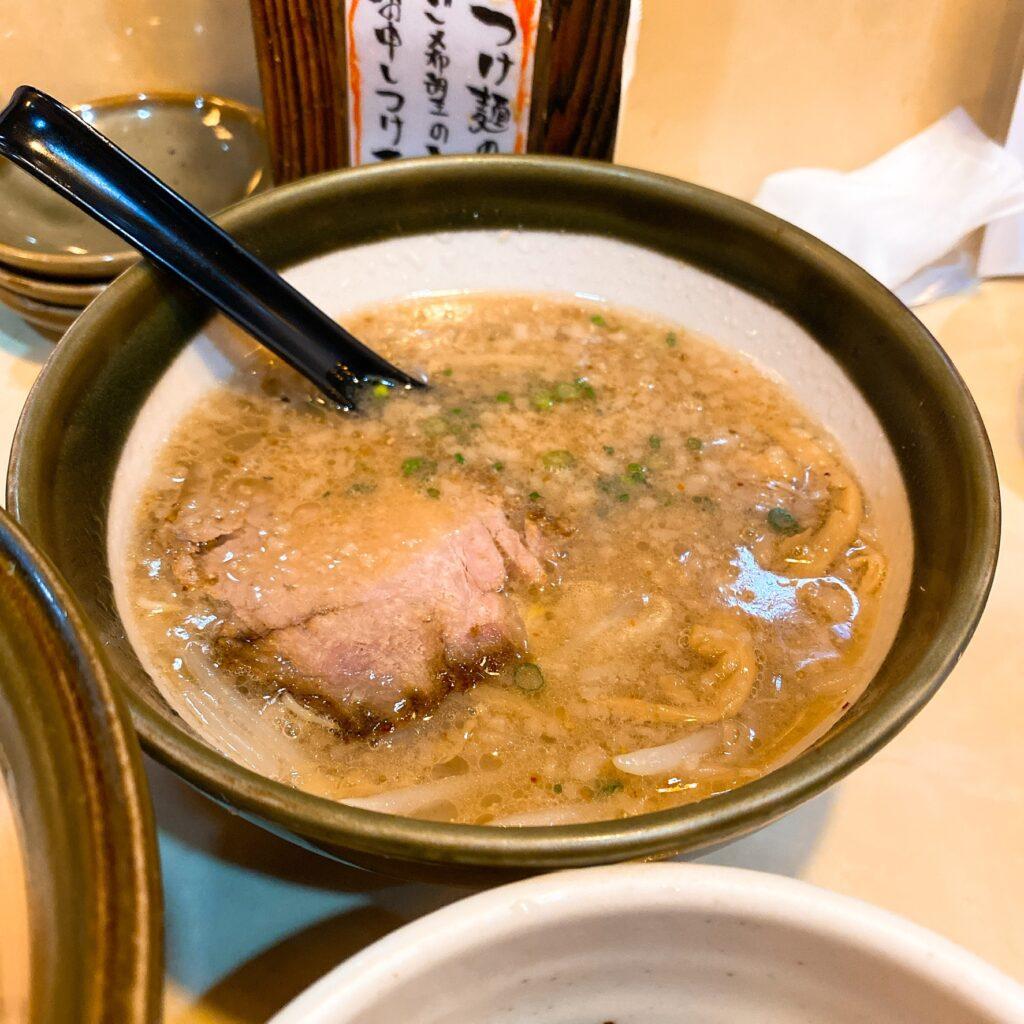 麺工房ぜんのスープ