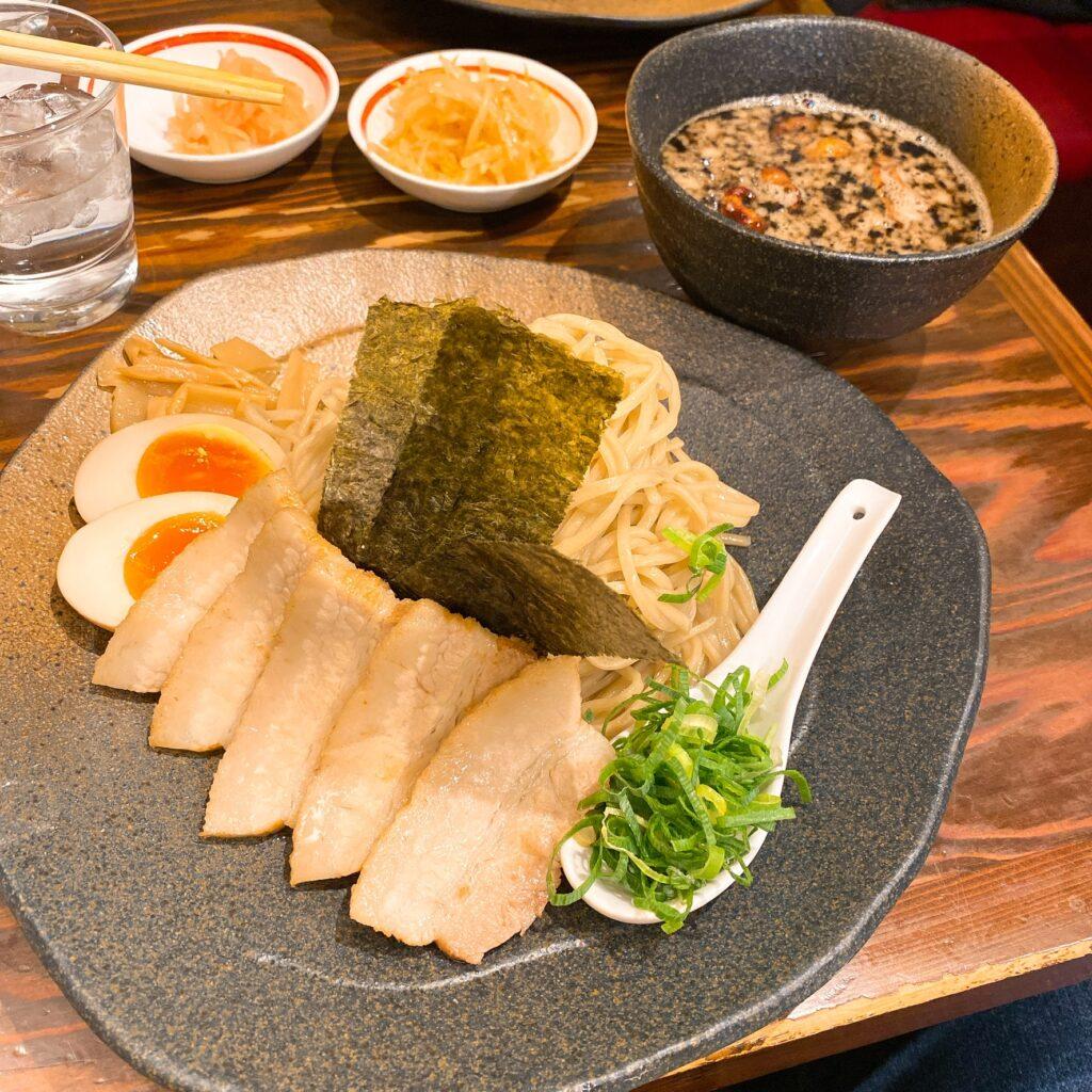 龍の家のつけ麺