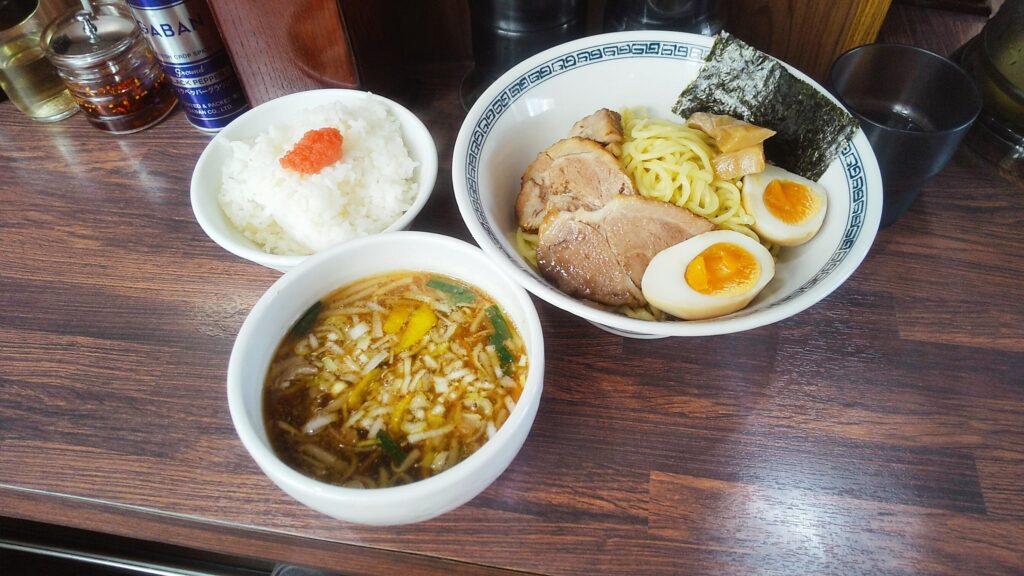 中華そば新のつけ麺の写真