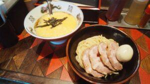 逆流の納豆つけ麺の写真