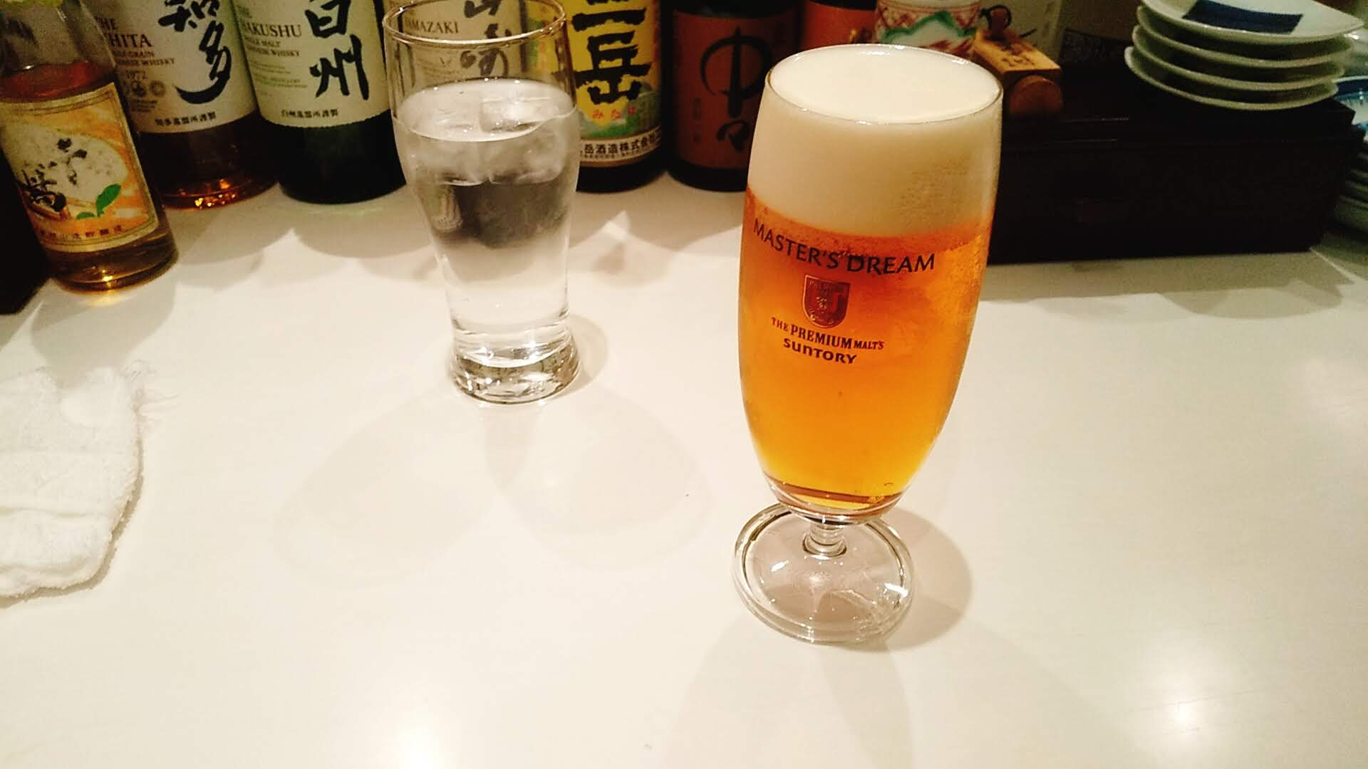 ふるめんのビール