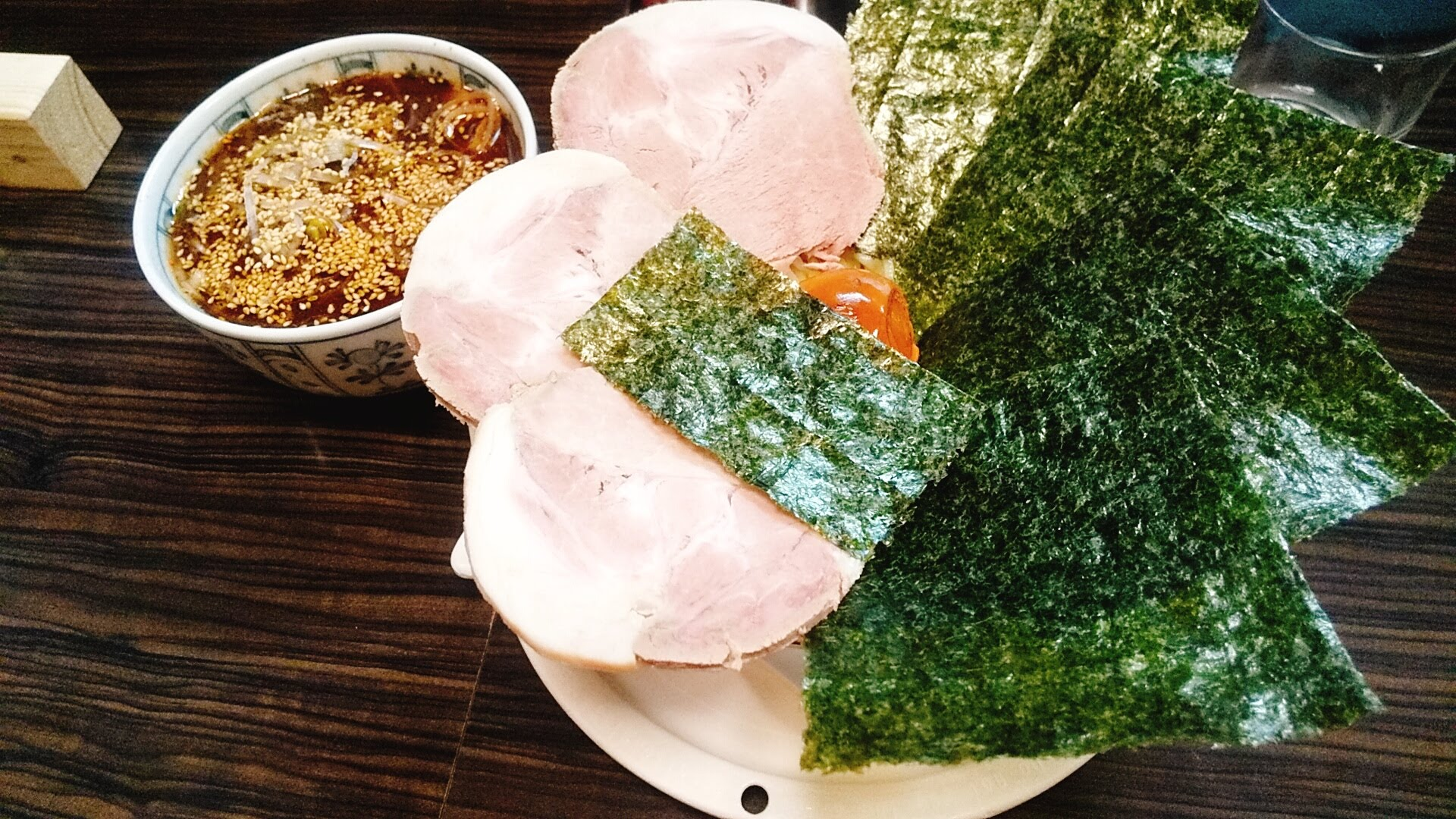 盛のスペシャルつけ麺の写真