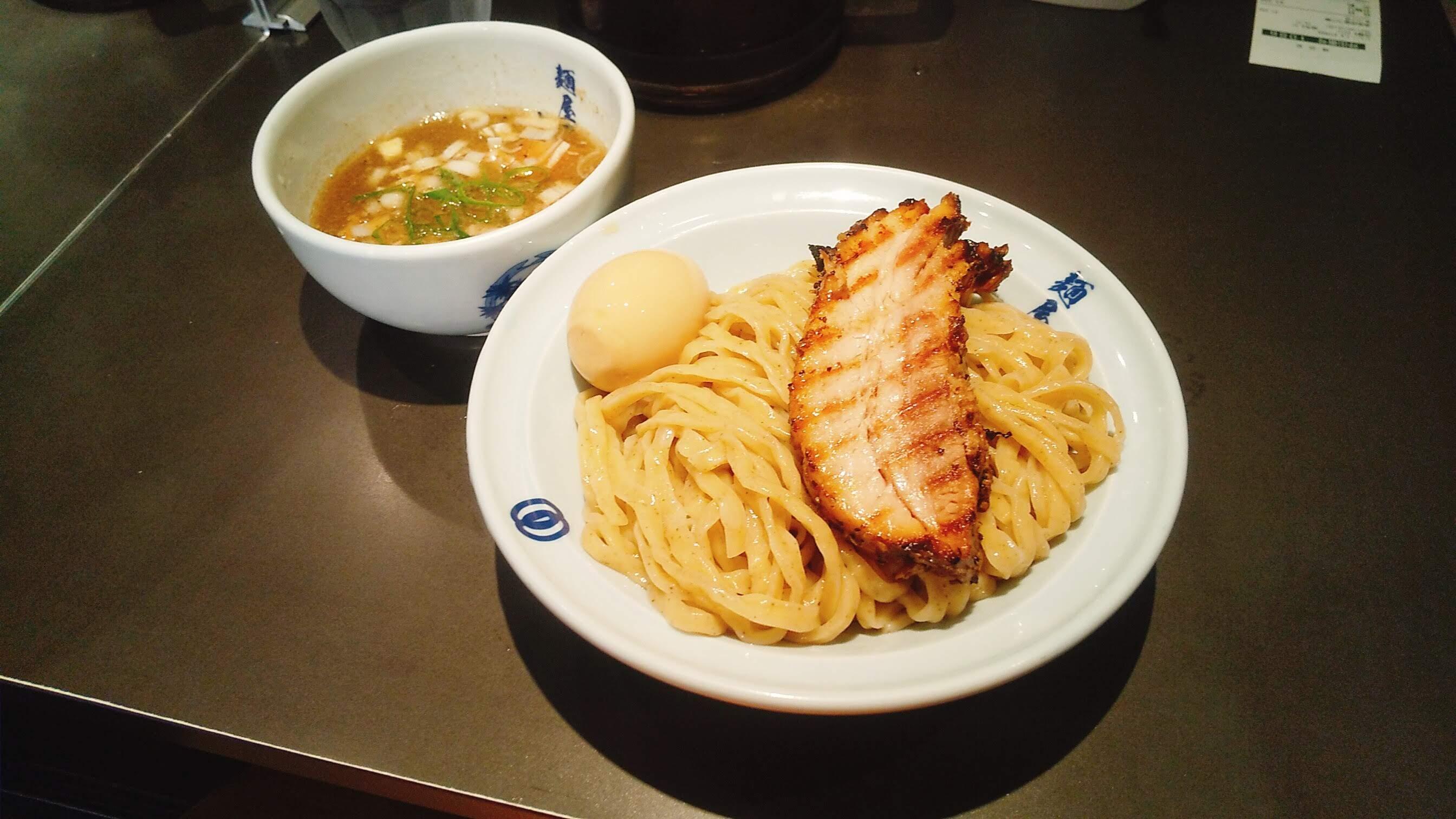 麺屋武蔵虎嘯の濃厚虎嘯つけ麺の写真
