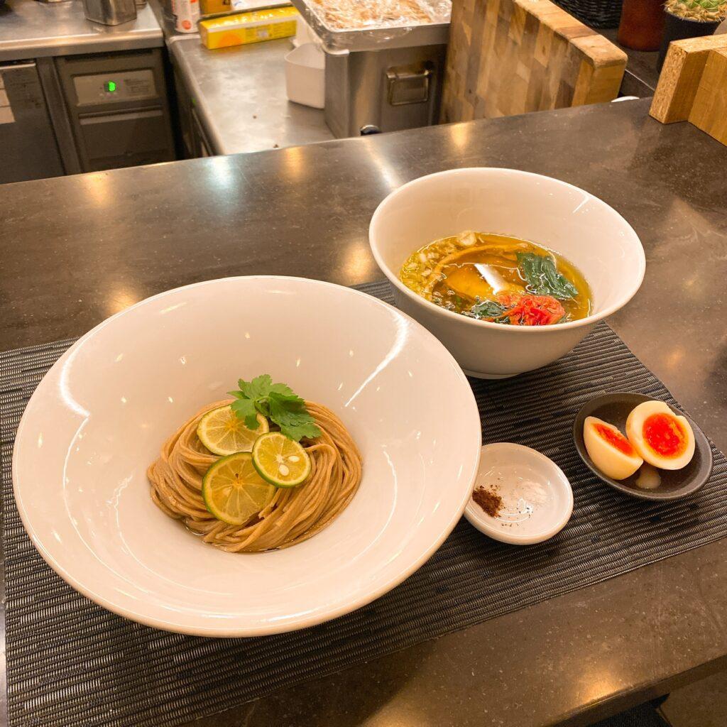 MENSHOのつけ麺
