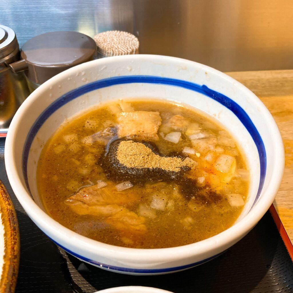 麺絆や519のスープ