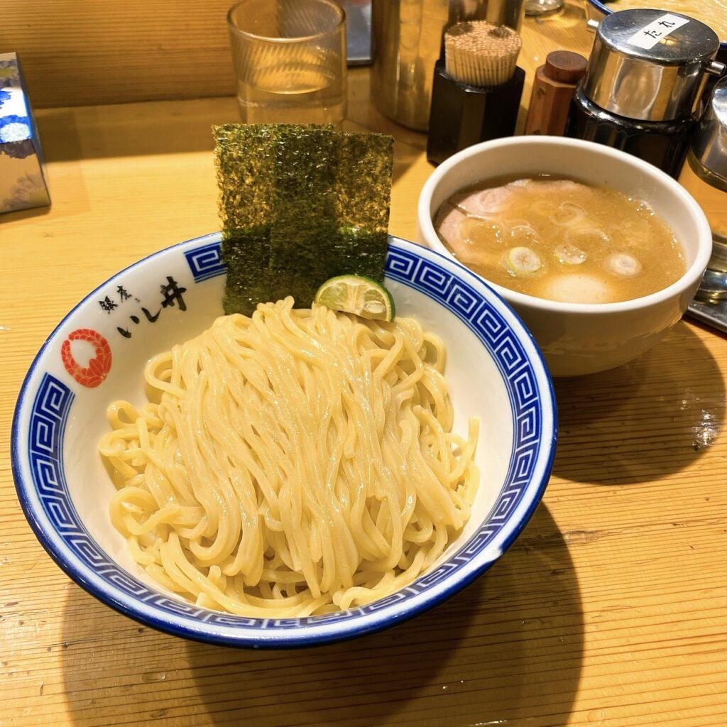 銀座いし井のつけ麺