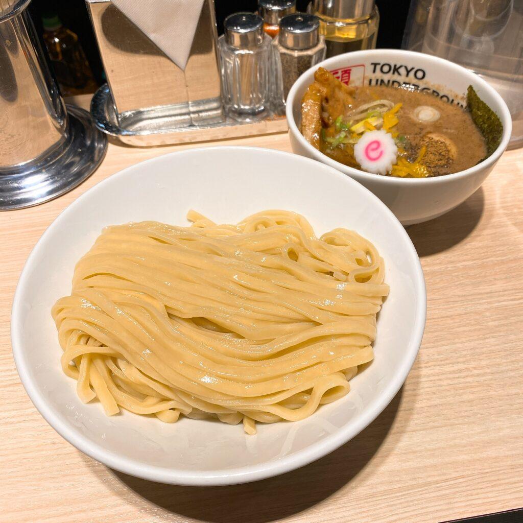 TOKYO UNDERGROUND RAMEN 頑者のつけ麺