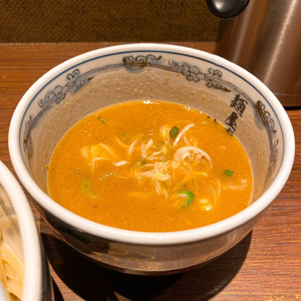 麺屋武蔵神山のスープ