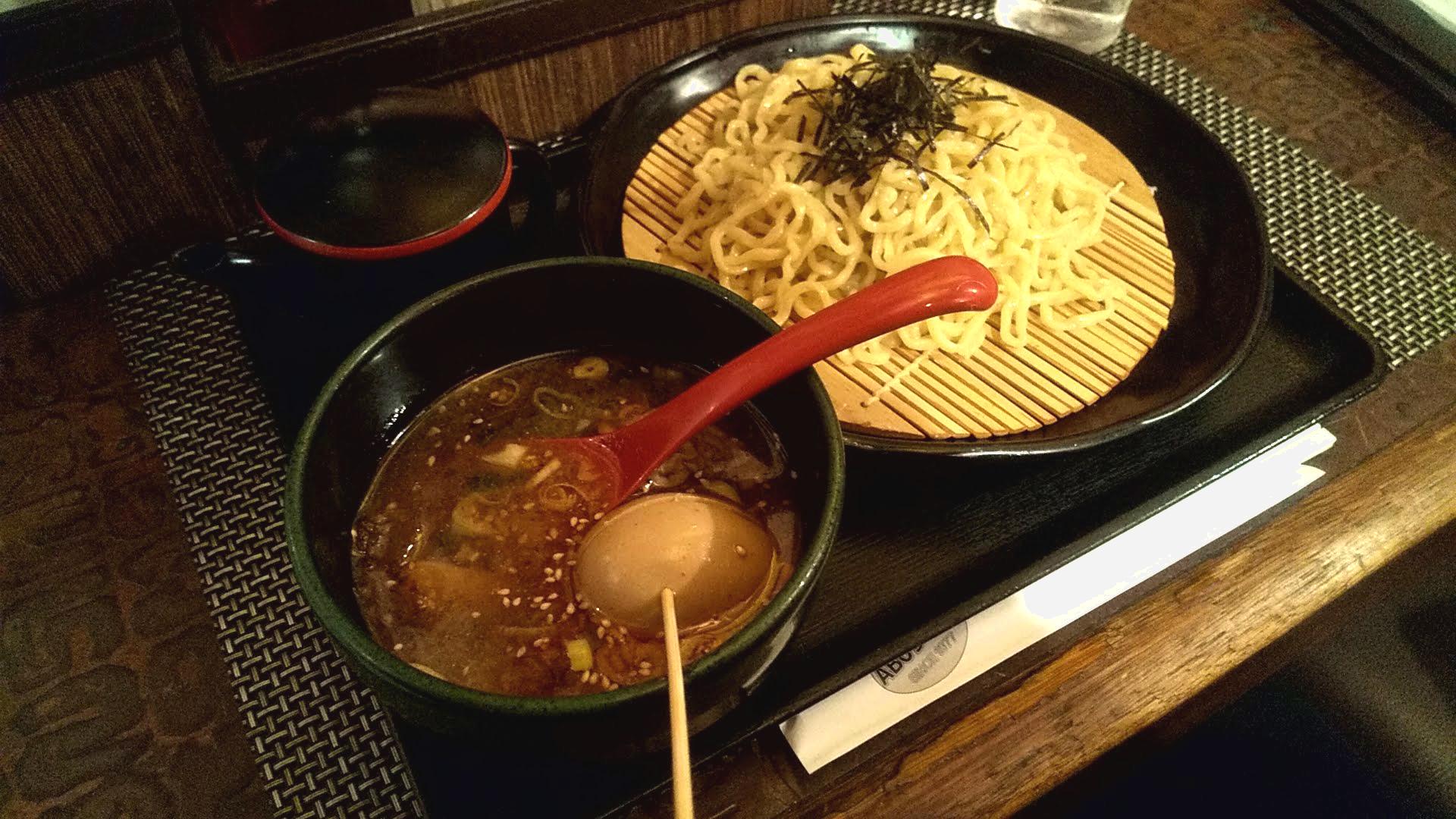 ABCラーメンのつけ麺の写真