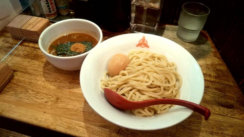 三田製麺所の朝つけ麺の写真