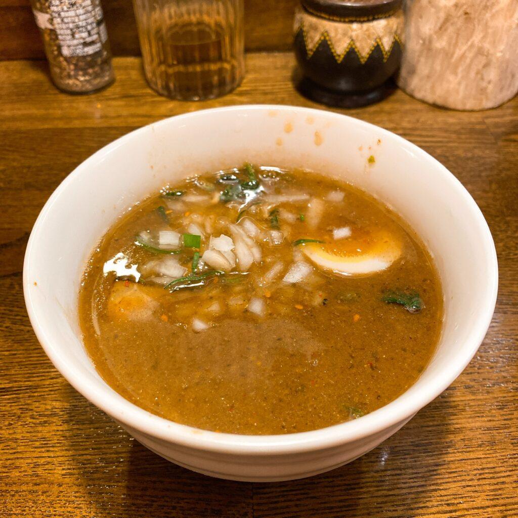 光そばのスープ