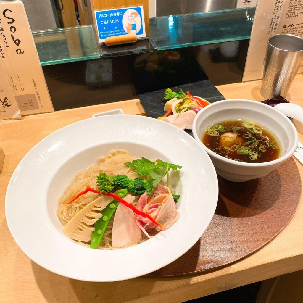 銀座篝のつけ麺
