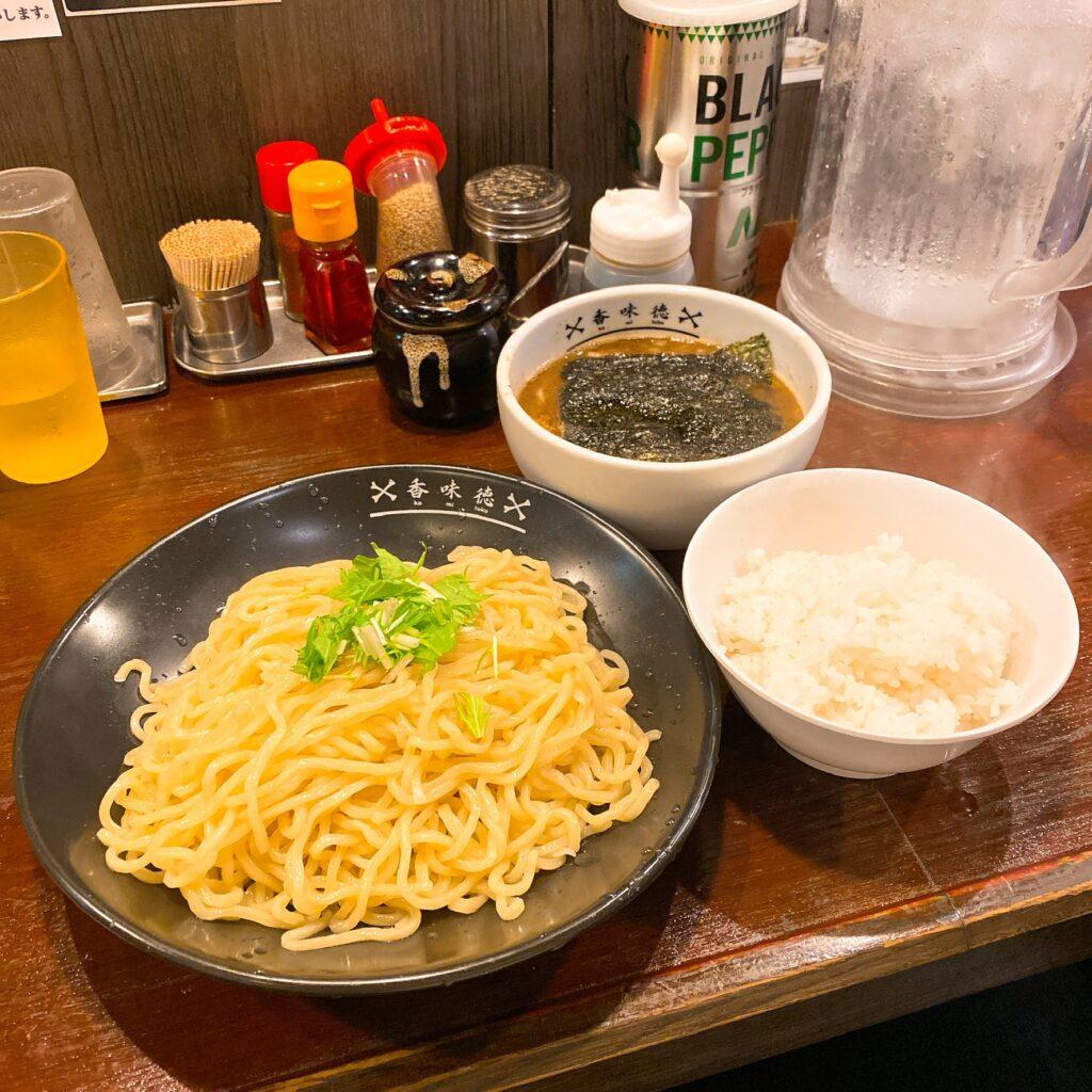 香味徳のつけ麺