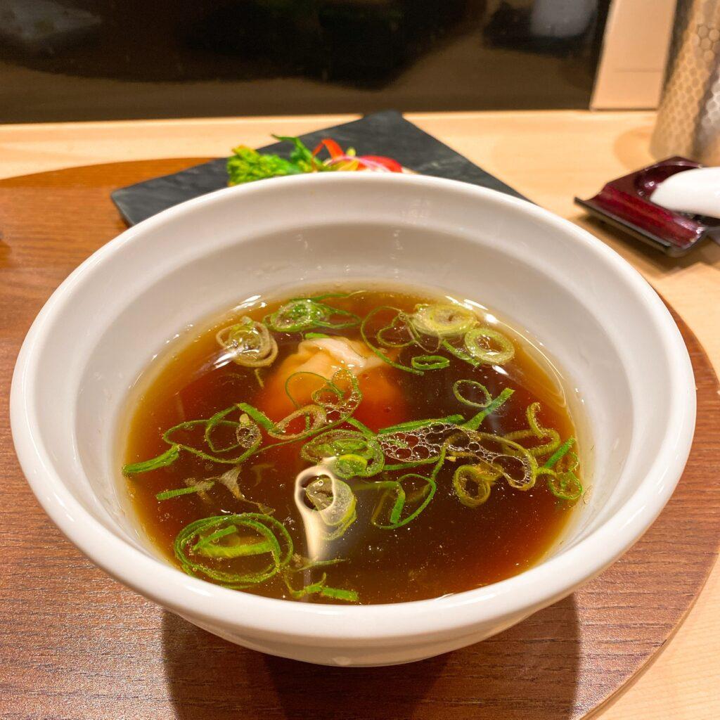 銀座篝のスープ