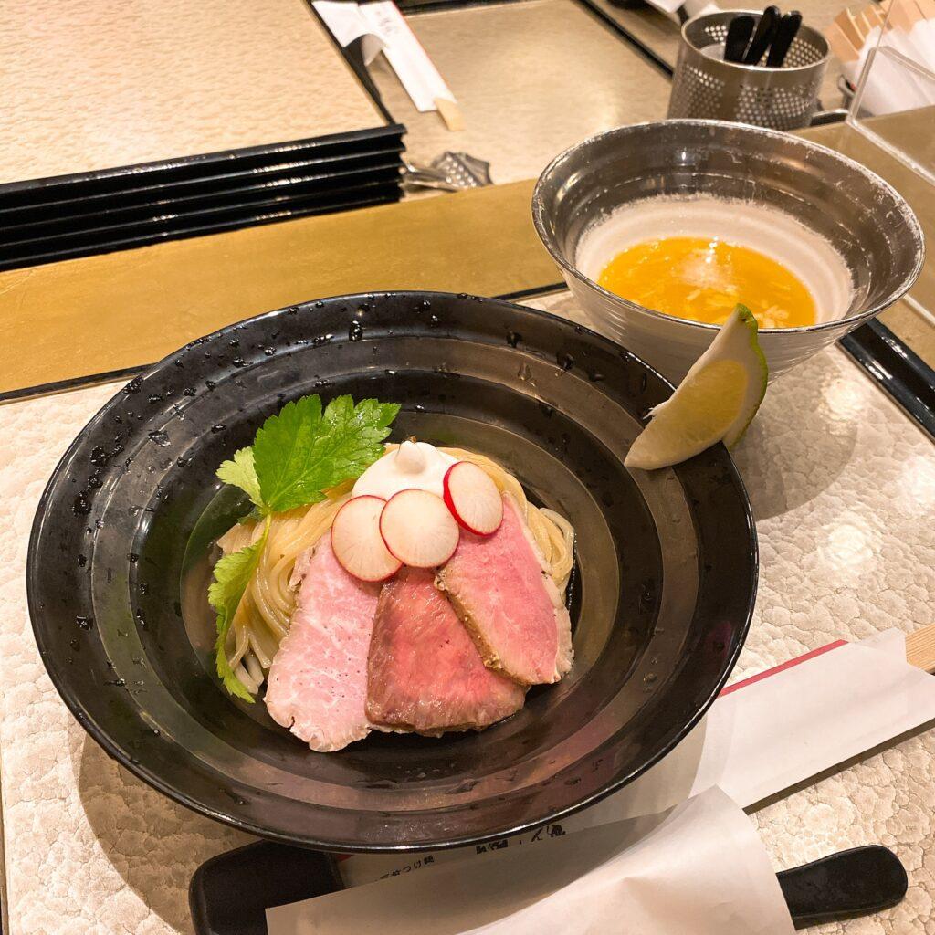銀座魄瑛のつけ麺