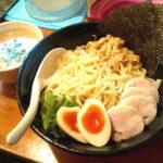 麺屋一楽の特製鶏白湯つけ麺の写真
