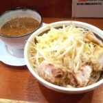 麺や希のつけ麺の写真