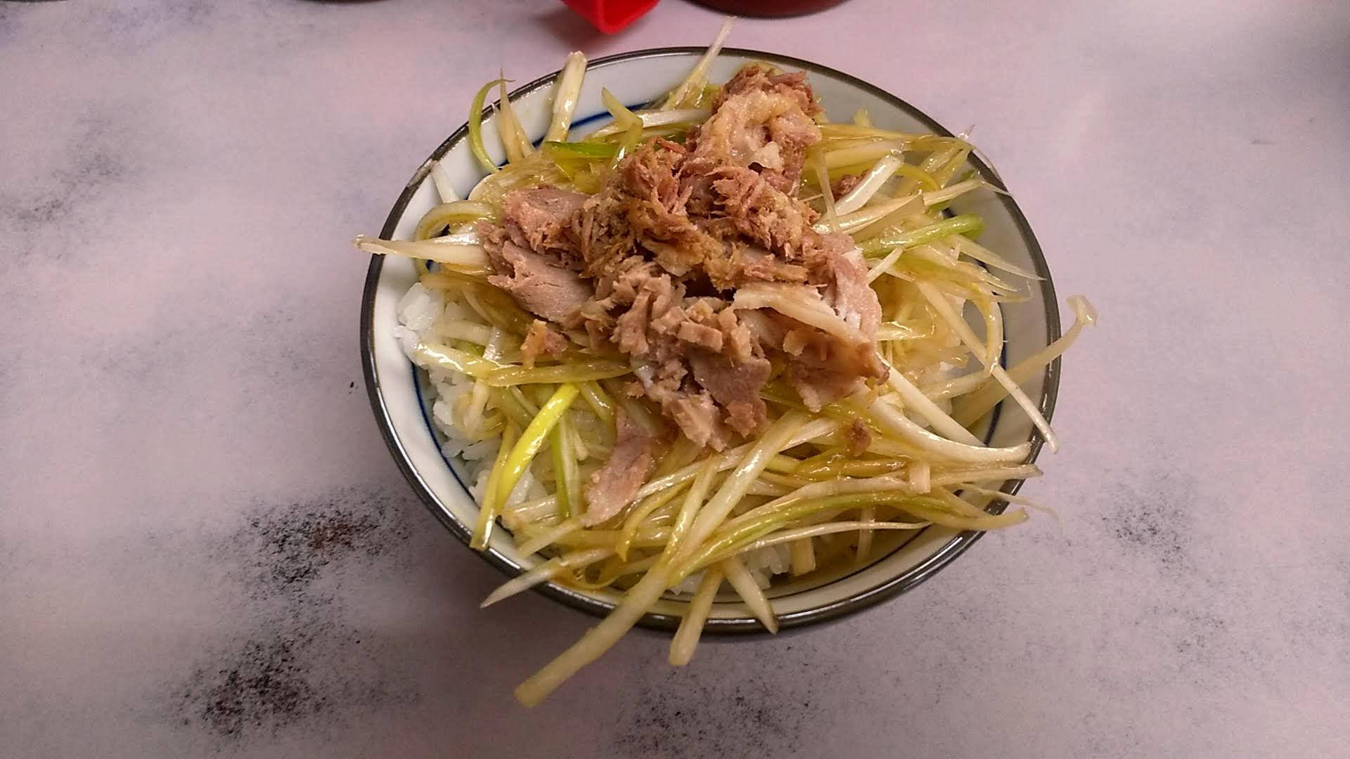 ◯つばき食堂のネギ飯