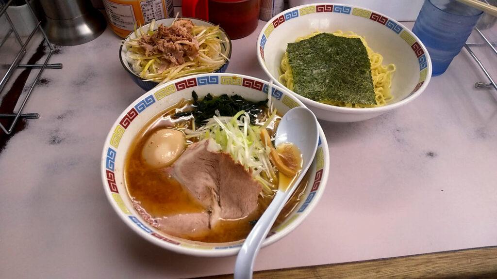 ◯つばき食堂のつけ麺の写真
