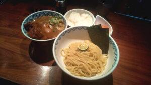 つじ田新橋店の二代目特製つけ麺の写真