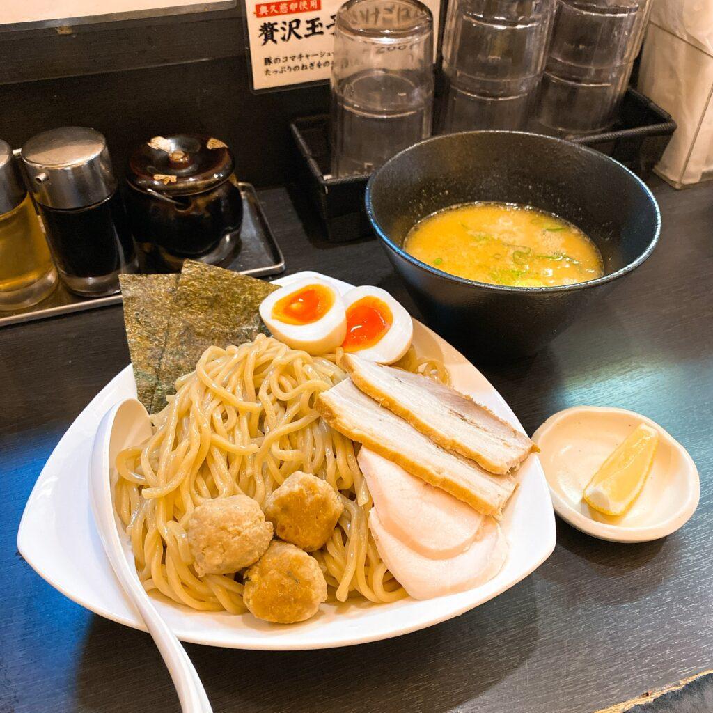 晴壱のつけ麺