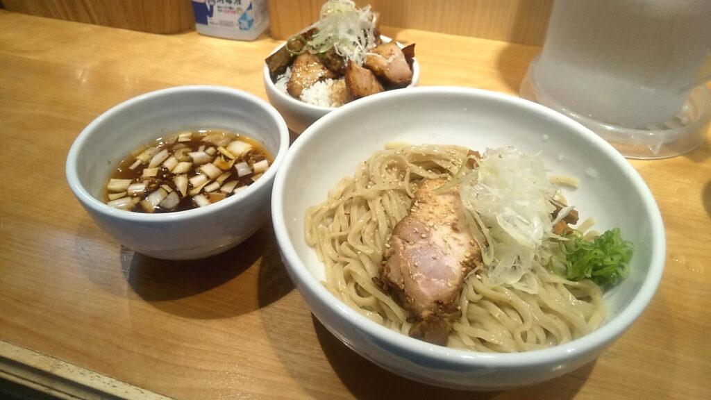 佐々木製麺所のつけ麺の写真