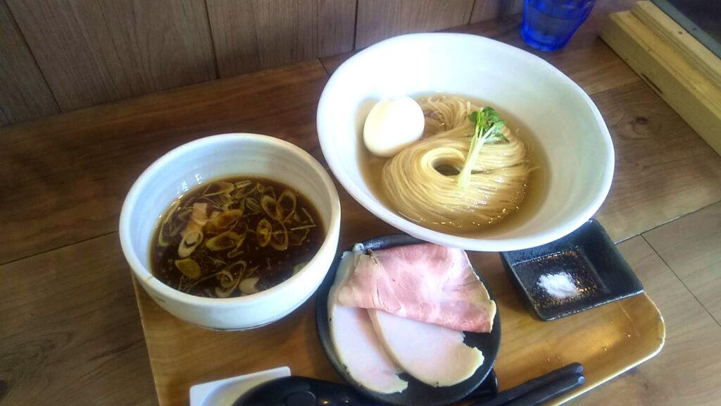 ラーメン健やかの特製つけ麺の写真