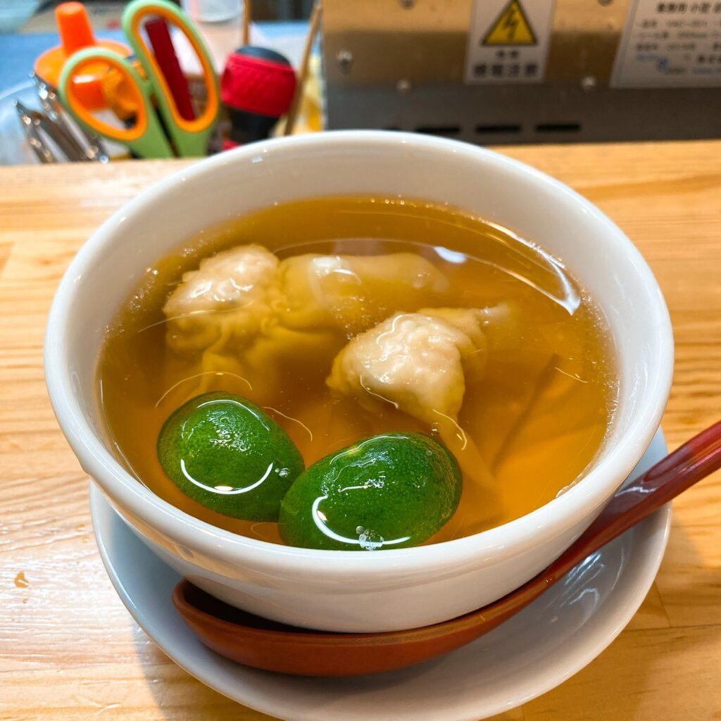 くろ松のスープ