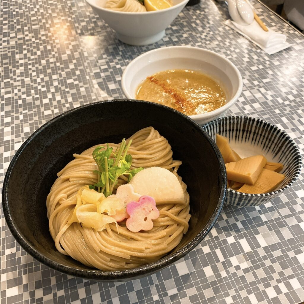 鮮魚らーめん五ノ神水産のつけ麺