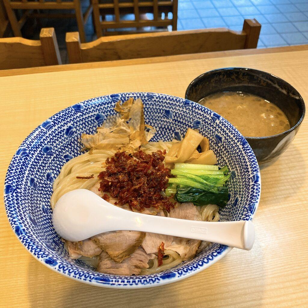 中華そば かみの屋のつけ麺