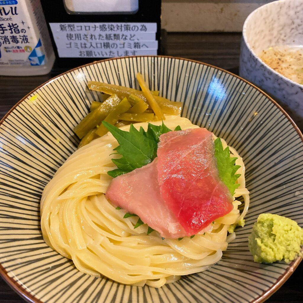 志奈そば田なかの麺