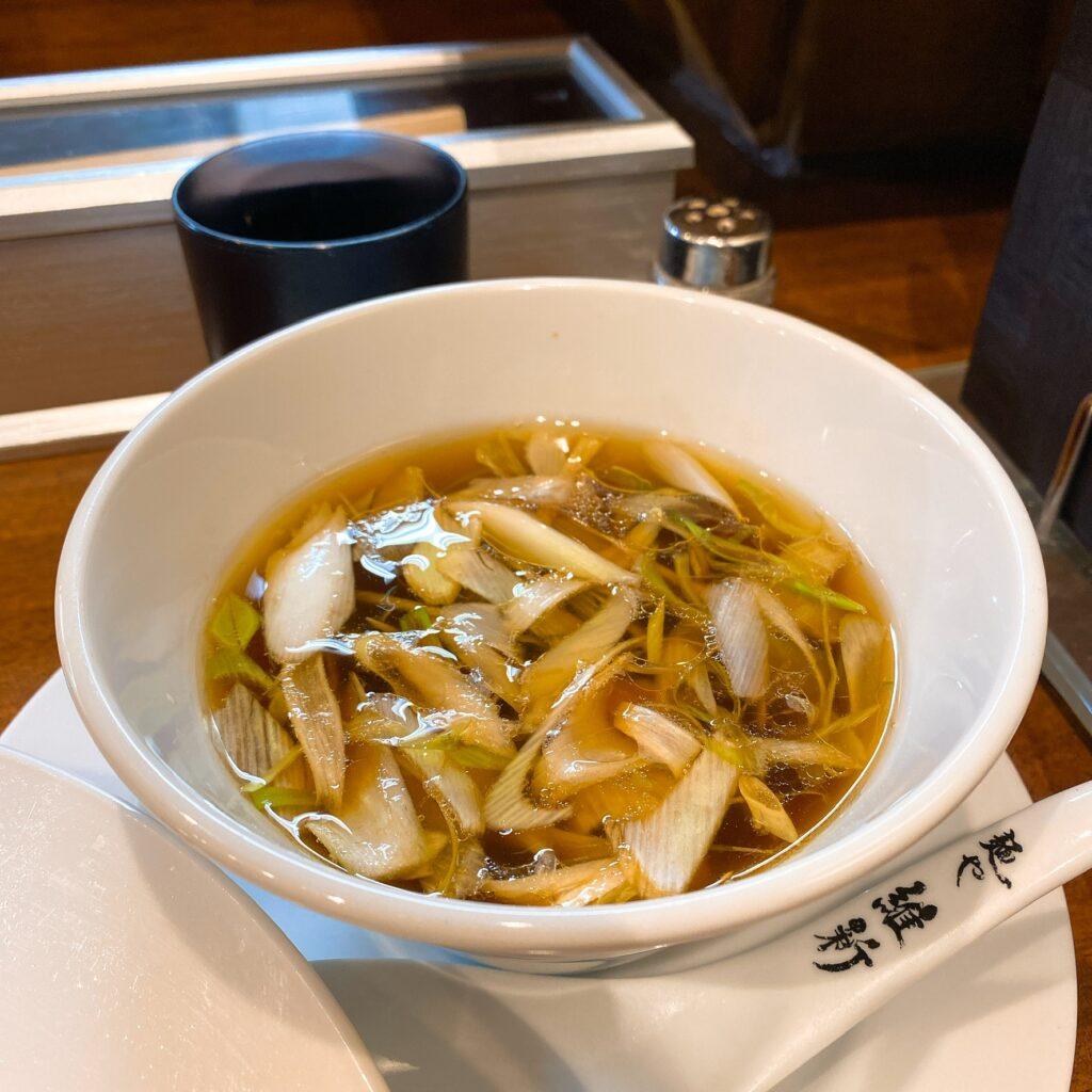麺や維新のスープ