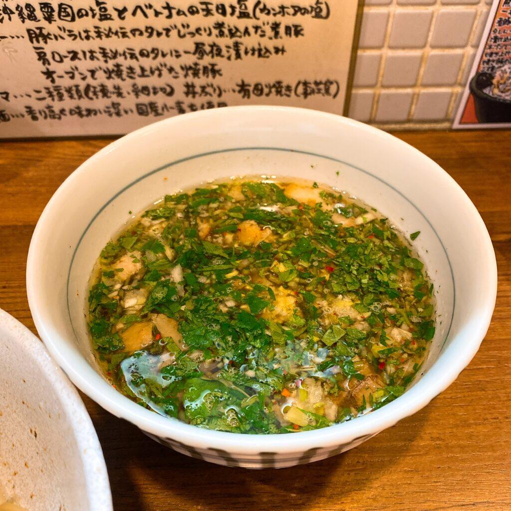 麺処びぎ屋のスープ