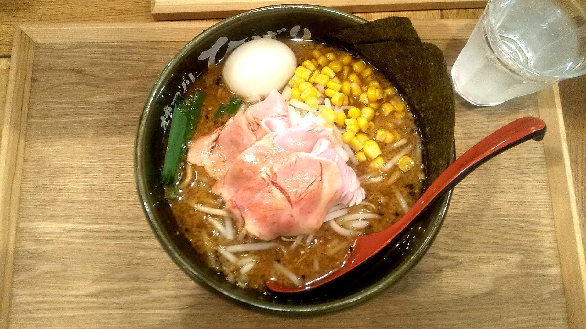 味噌らーめん柿田川ひばりの特製味噌らーめんの写真