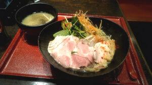 恋し鯛の鯛の昆布水つけ麺の写真